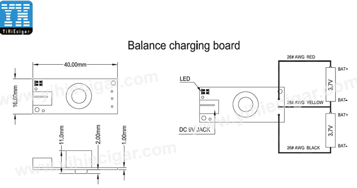 Dimention of Dual battery Balance Charging Board yihi sx350j wiring diagrams diagram wiring diagrams for diy car yihi sx350j wiring diagram at bayanpartner.co