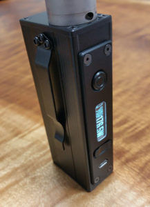 XPV DNA-200D all black, delrin covers, low profile 510
