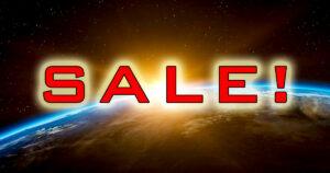 Status 3/21: March sale!