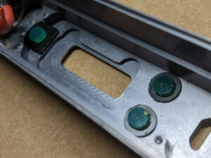 DNA 250 OEM button bumpers